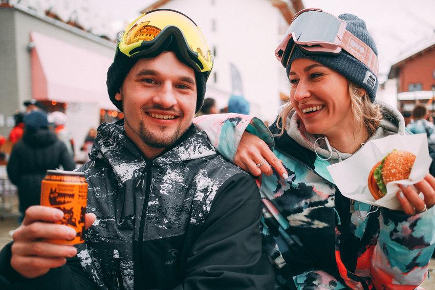 Зимний фестиваль на Роза Хуторе