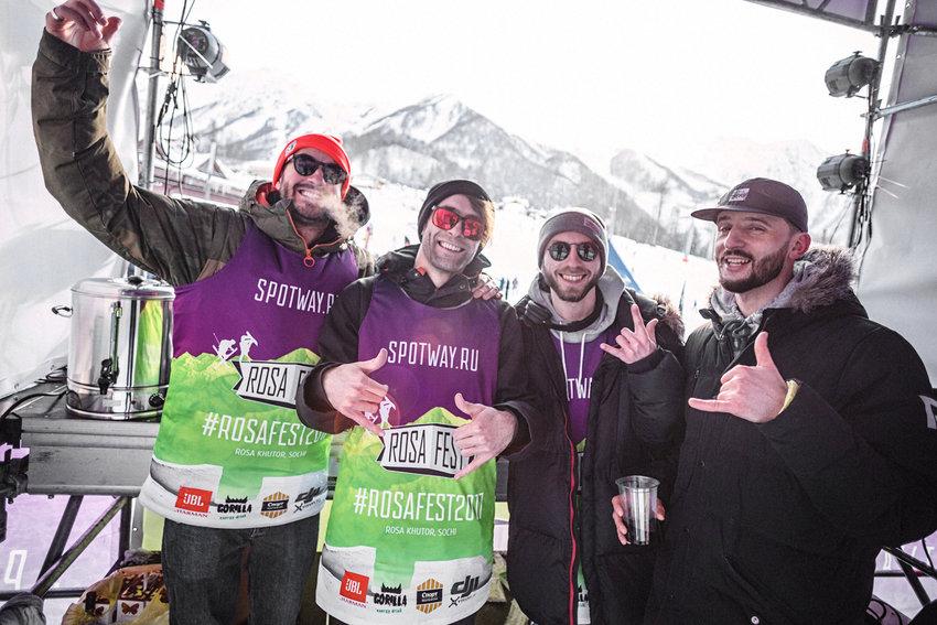 apre-ski in rosafest